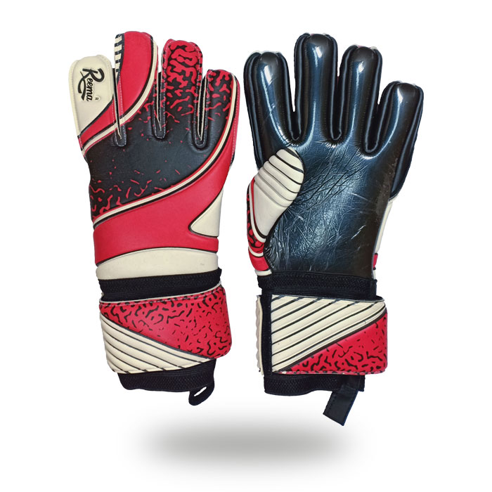Absolute Grip | red and black gloves for players
