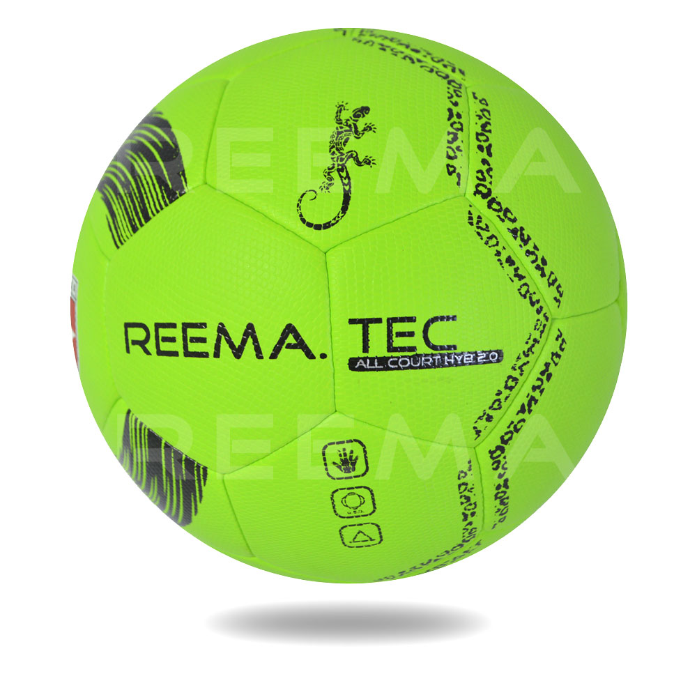 All Court HYB 2020 | white color background green and black handball