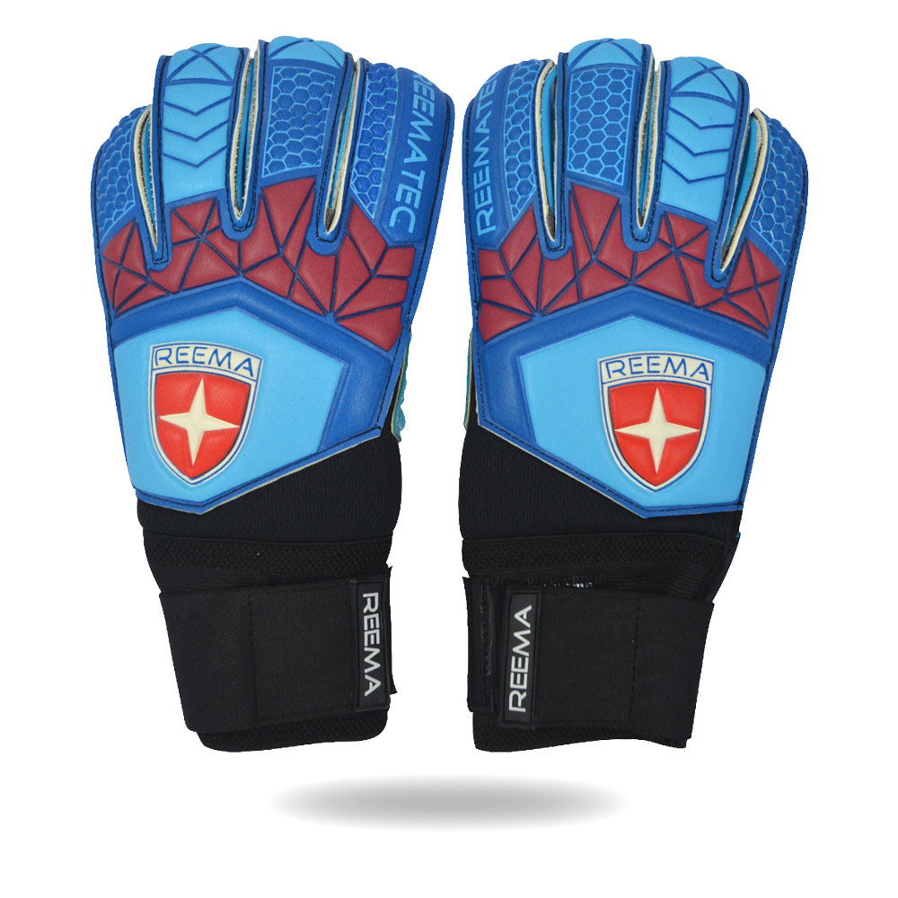Aqua | Super Soft Professional goalkeeper glove Black and Blue