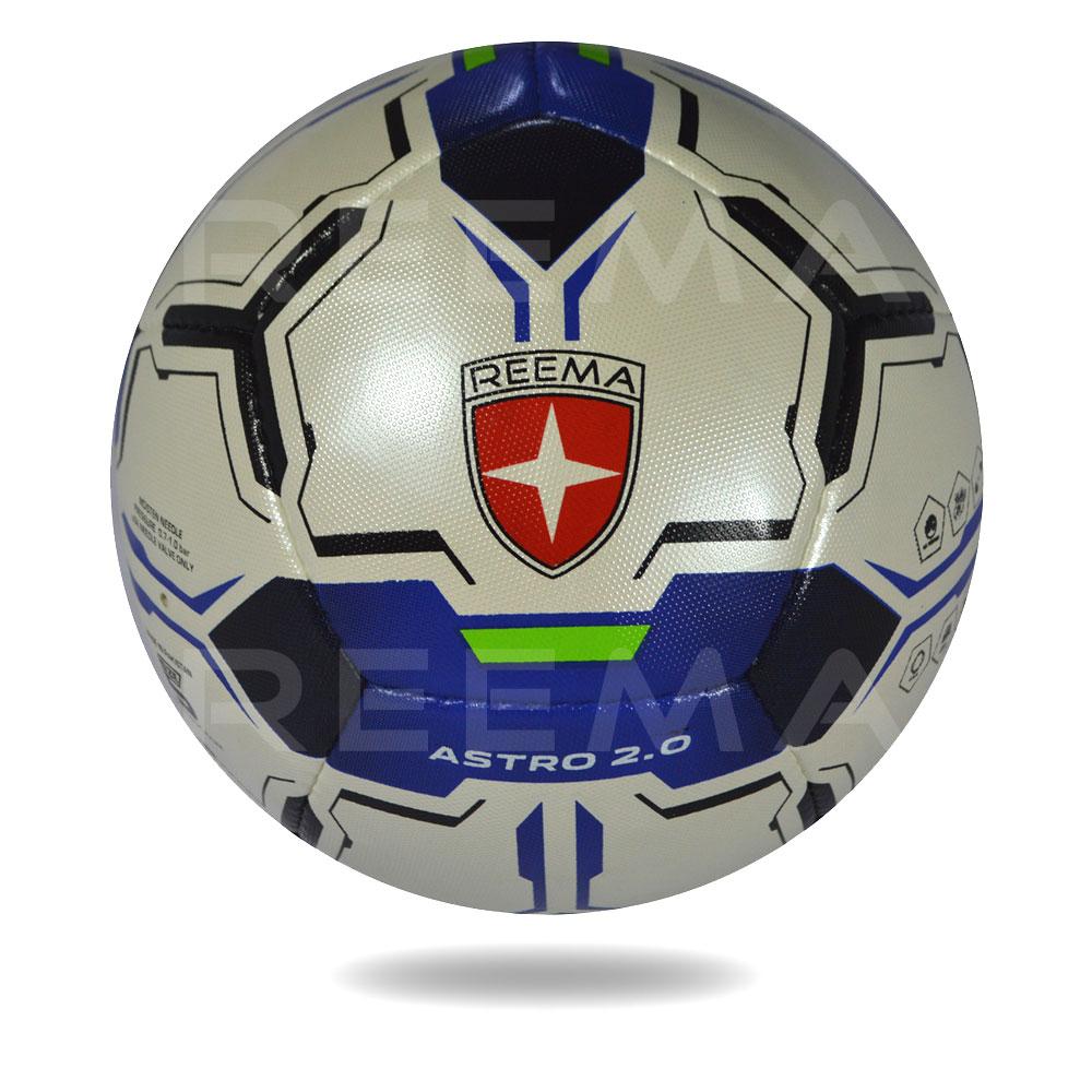 Astro 2020 | Light gold dark blue printed football