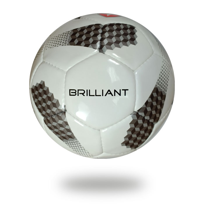 Brilliant | Match quality soccer ball white and black
