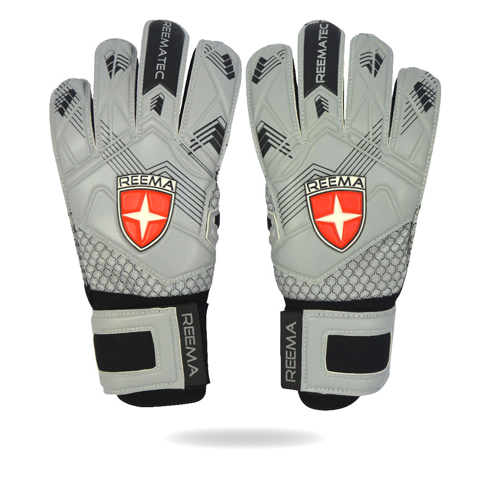 Classic Defender | gray black waterproof goalkeeping glove for match