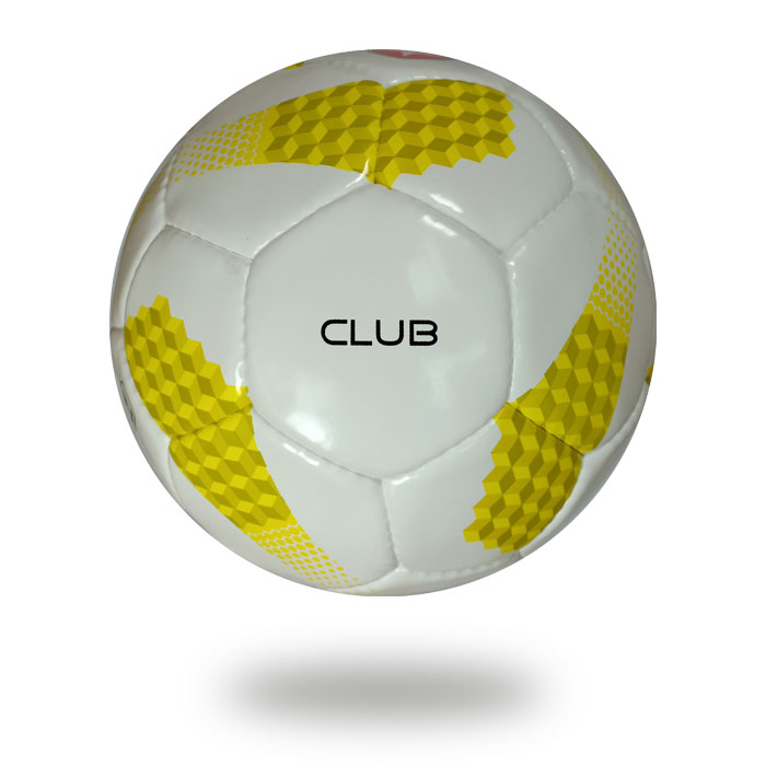 Club | white yellow soccer ball Great Gift  for Boys and Girls Learning football at the club