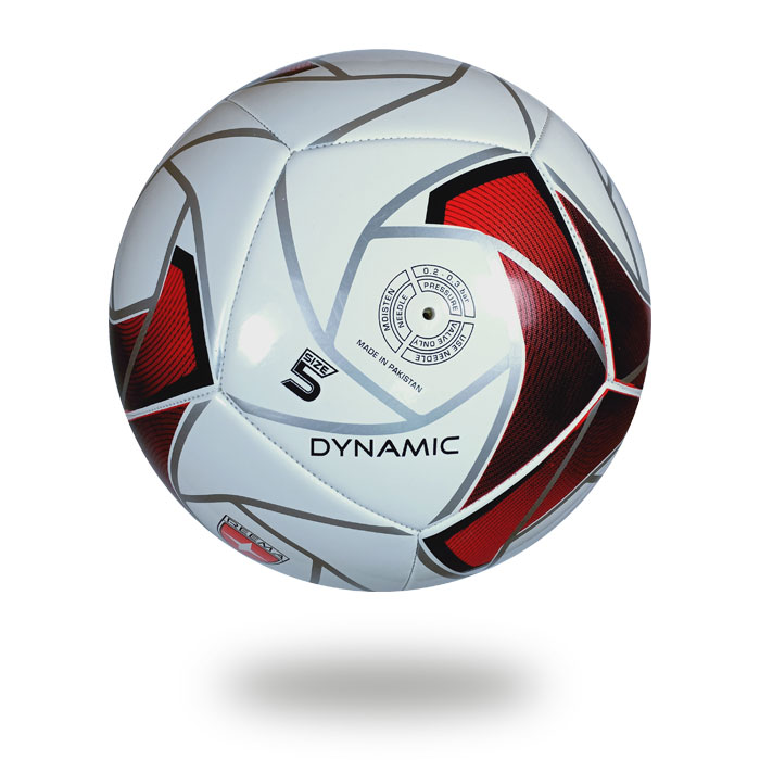 Dynamic | 12 panels football white cover spider silver printing