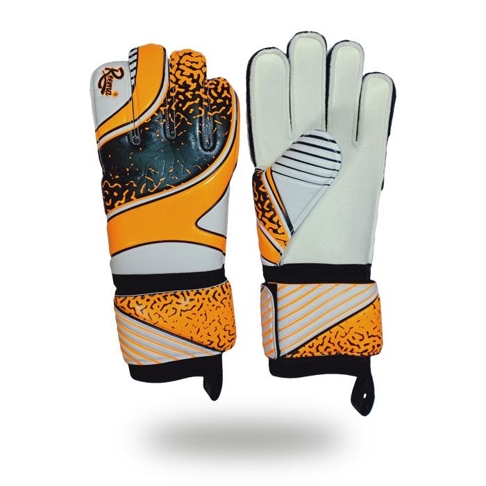 Eliminator Soft   best Light orange and skin goalie gloves Kids Youth Soccer Goalkeeper Gloves