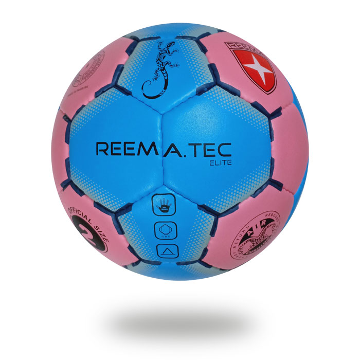 Elite | top competition  Royal blue and Pale violet Red handball