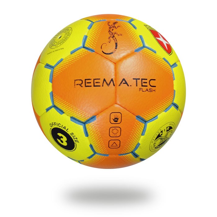 Flash | 32 panel Yellow and orange handball