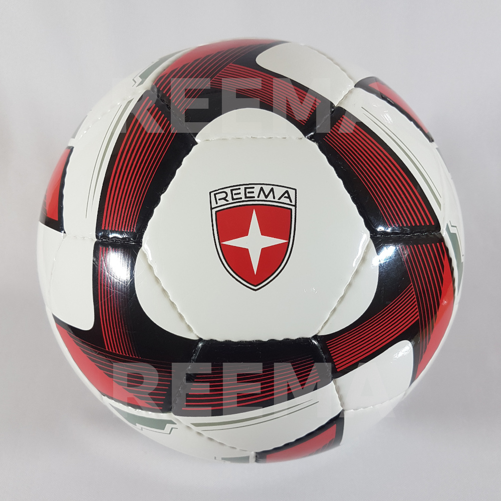 Futsal Professional | white dark red Match ball top  best football manufacture reematec