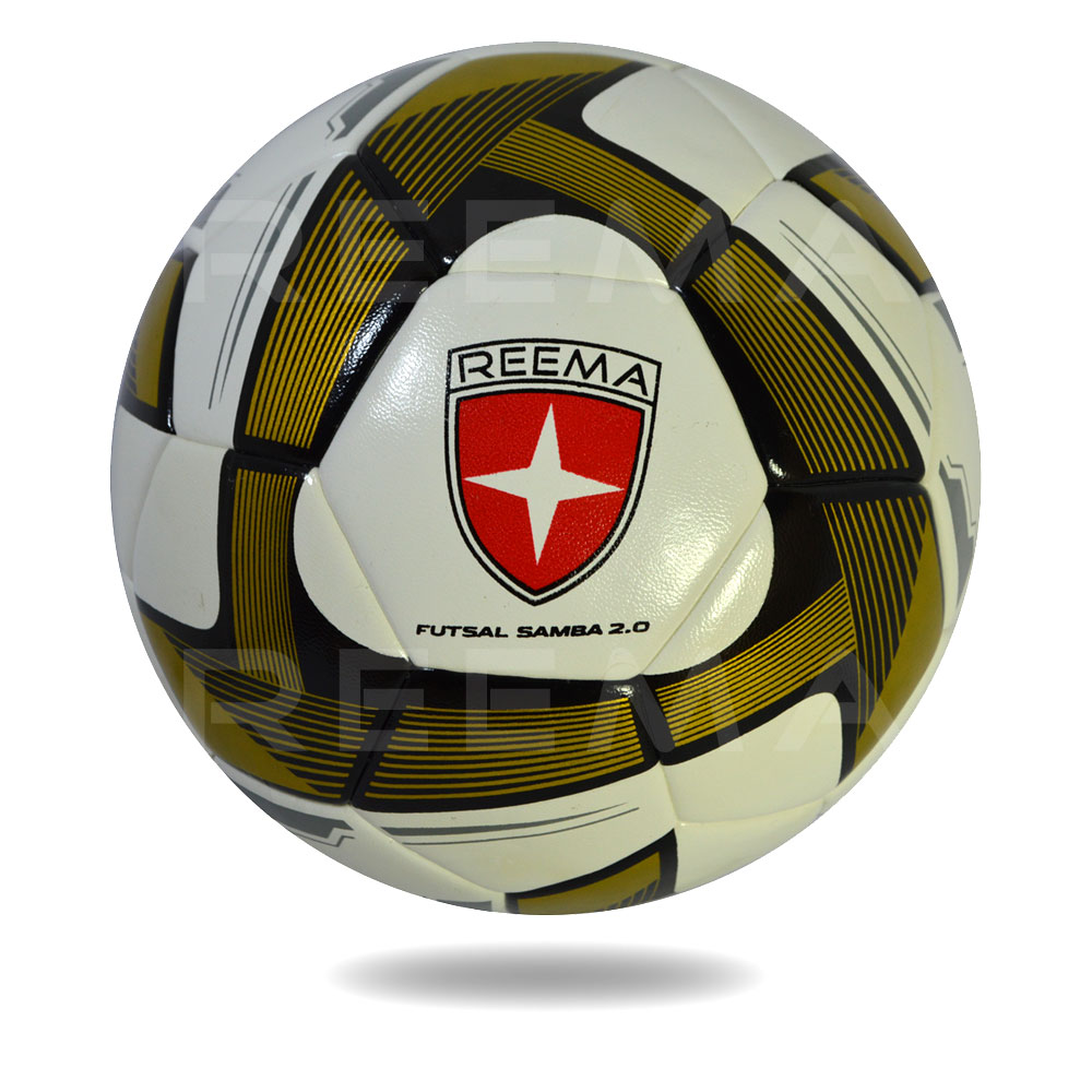 Futsal Samba 2020 | white PU dark goldenrod triangle soccer ball