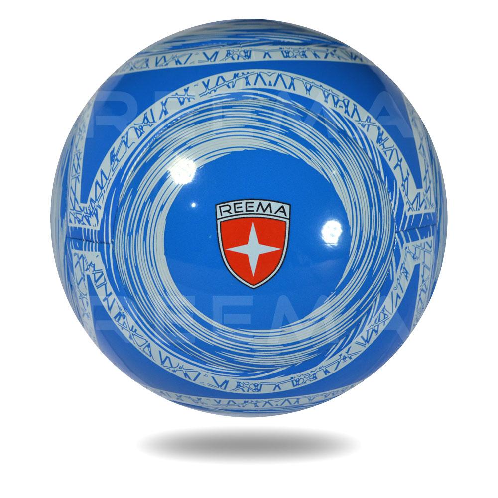 Lite 290| a round Royal blue football printed white circles