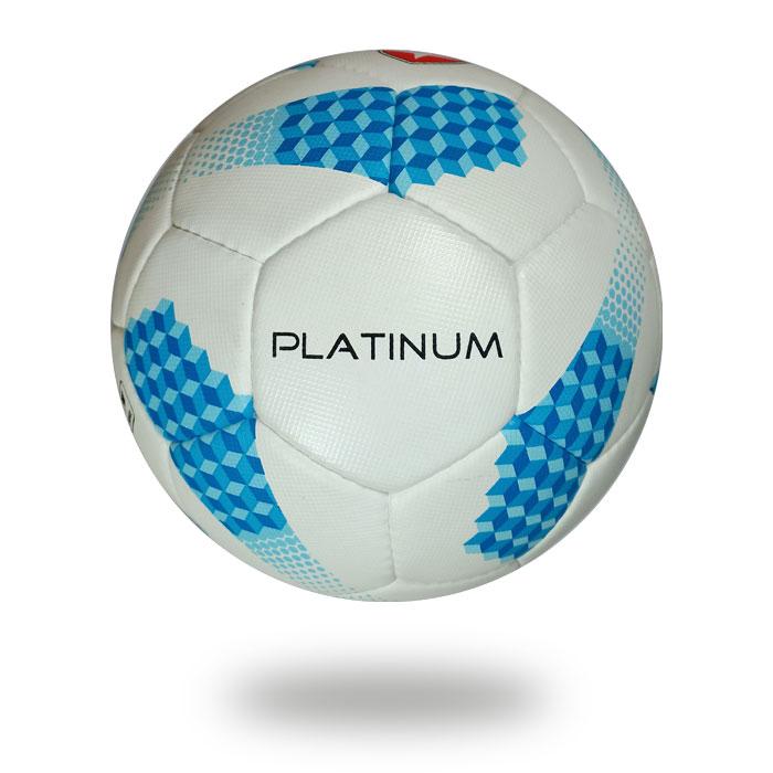 Platinum | water resistant white blue soccer ball