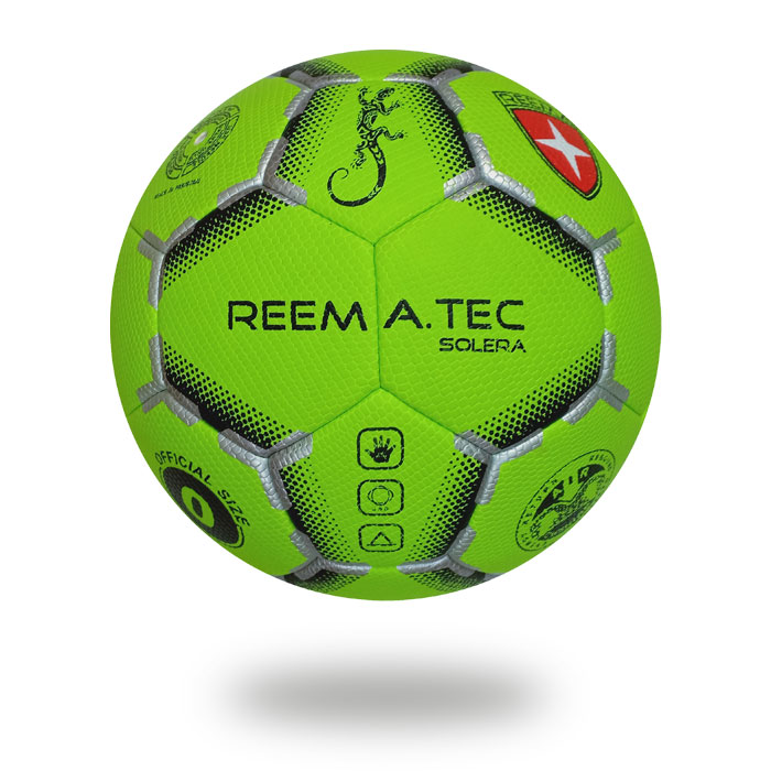 Solera | use PU PV material Lawn green handball printed with silver printed