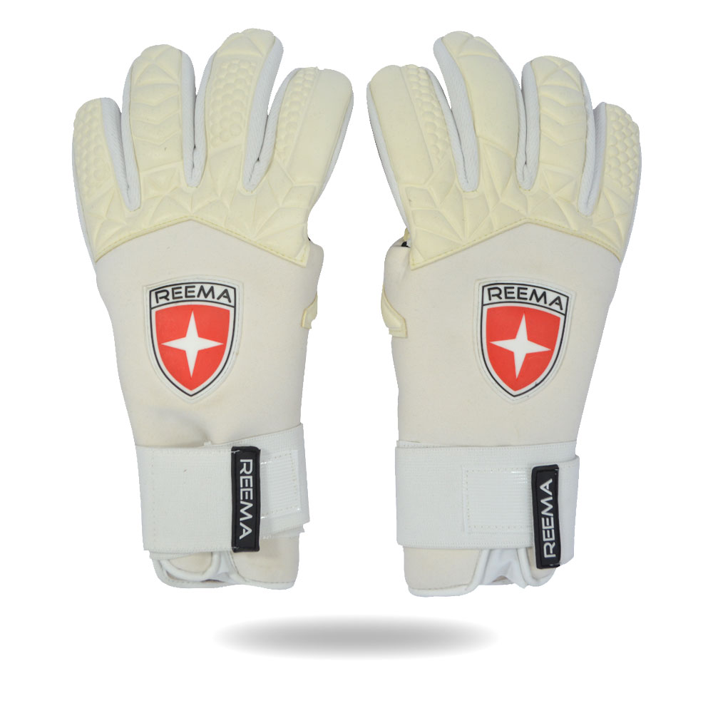 Strong Reflex | White nice and soft glove available in reema's stock