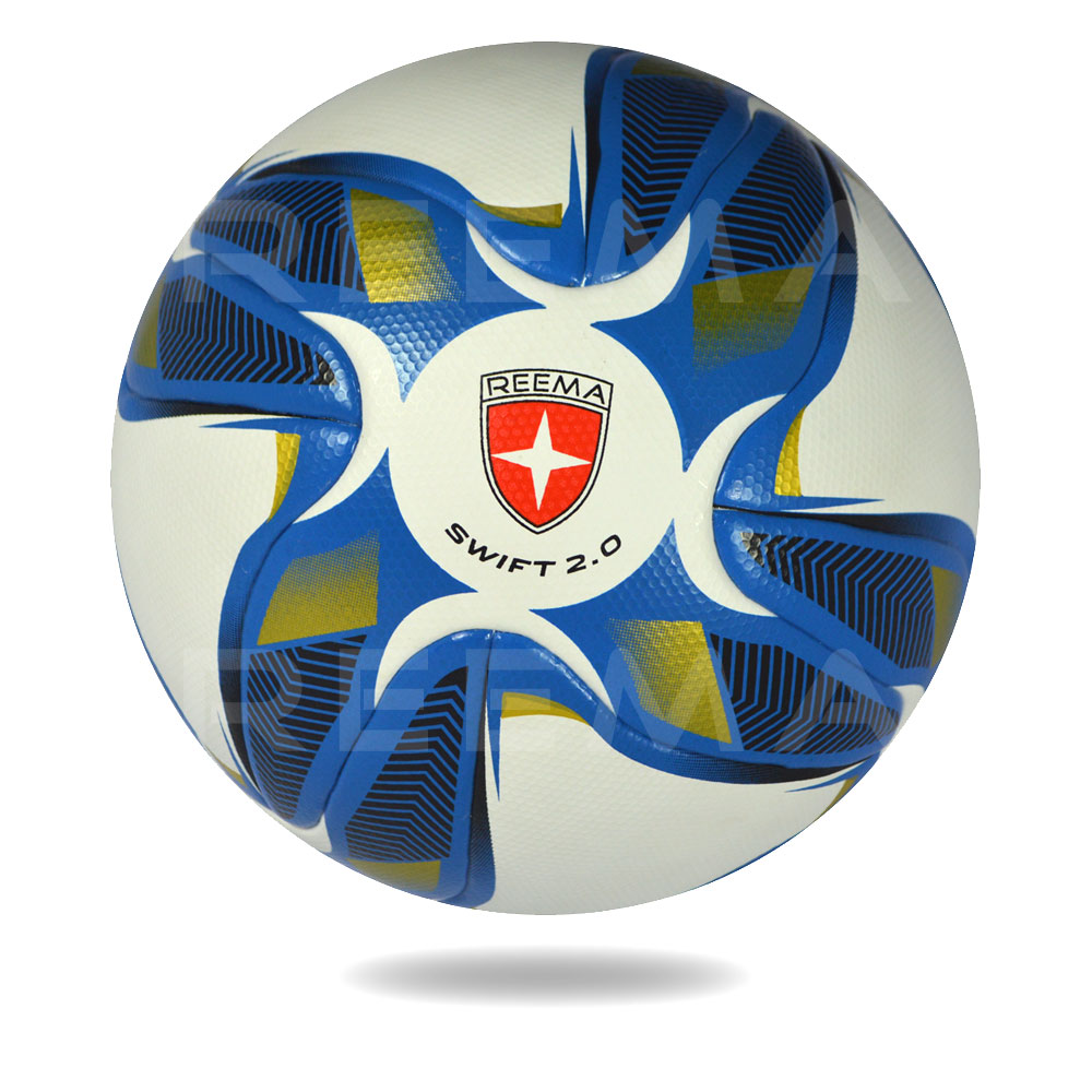 Swift 2020 | using crescent and cross shape made a wonderful soccer ball printed with royalblue and gold