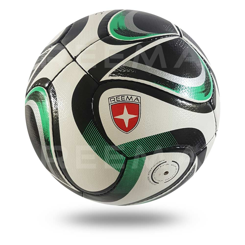 Volos 2020 |  the upper sheet of football is white and printed with light sea green