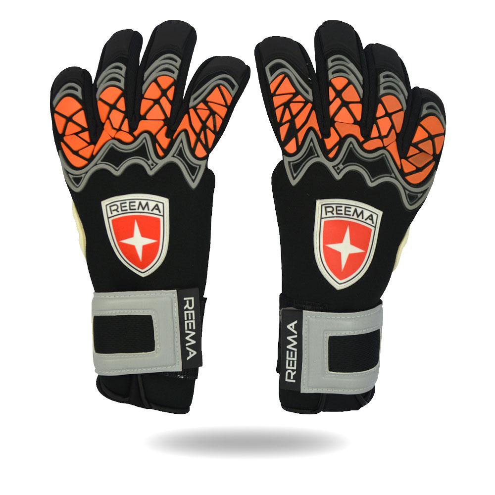 Wonder Shield | match machine stitched hand glove in black