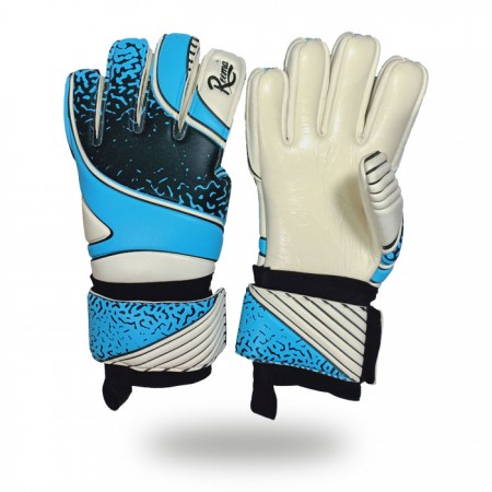 Absolute Grip |color change as per customer demand goalkeeper gloves white and blue