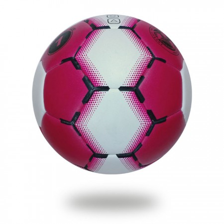 Ace | White background handball maroon and white use Indoor Outdoor