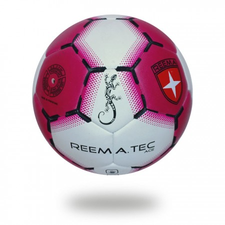 Ace | Soft tacky PVC Maroon white handball made for club school