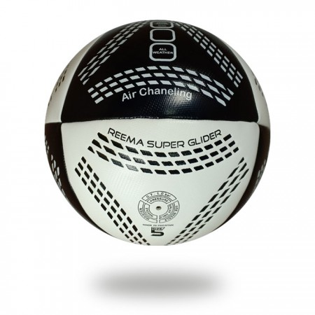 Air Chaneling | white and black small Parallelogram draw on soccer ball