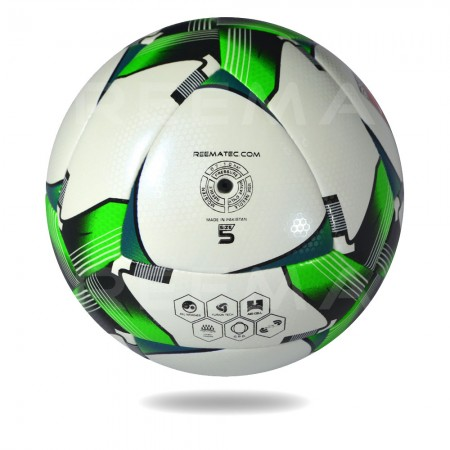 Arena Star 2020 | special design soccer ball for clubs using green and white color