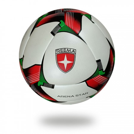 Arena Star | special design soccer ball for clubs using red and white color