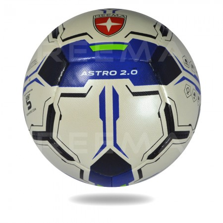 Astro 2020 | dark blue and gold soccer ball size 5 hand stitched