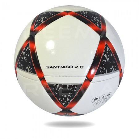 Atome 2020 | the best fusion Tec white cover printed star black and red football