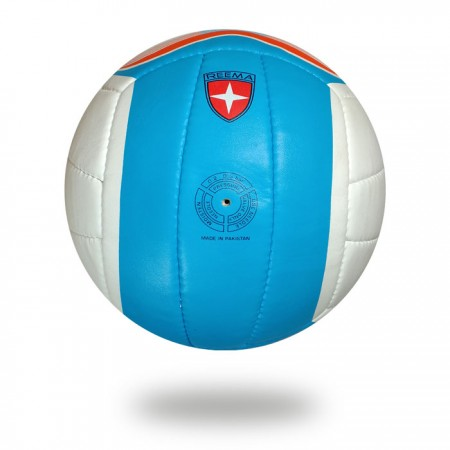 Beach Camp | best  white blue youth hand stitched volleyball