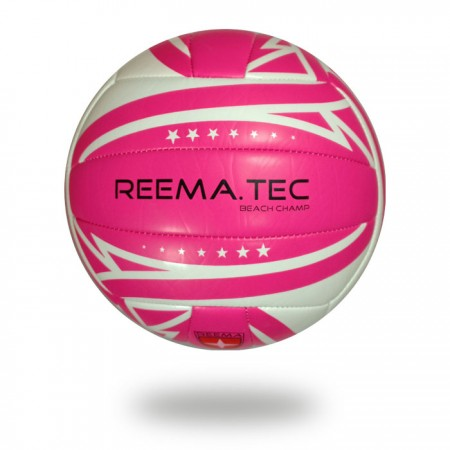 Beach Champ | according to FIVB volleyball White cover printed pink design