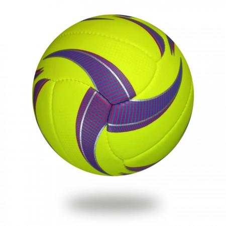 Beach Volley | Green Yellow volleyball best manufacturer Sialkot Pakistan Punjab