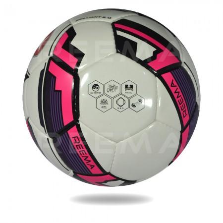 Brilliant 2020 |  EVA For Softness white and hot pink soccer ball
