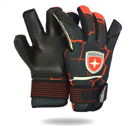 Buckler | A glove white background in black color sublimated and machine stitched