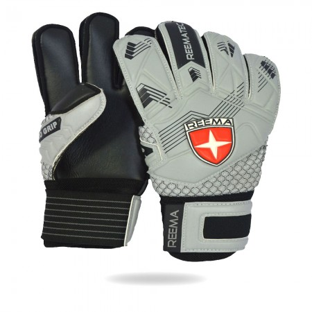 Classic Defender | Gray black best match gloves 7 to 8 year younger students
