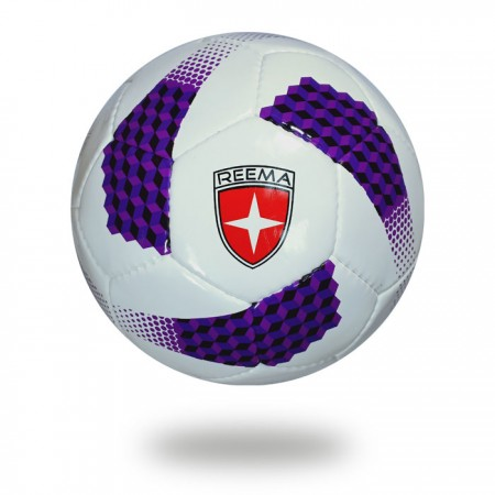 Cosmos 290 | cool color white and purple round shape soccer ball