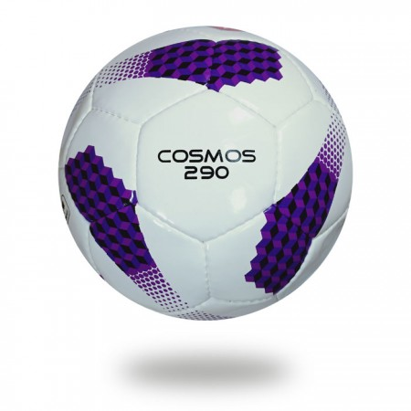 Cosmos 290 | color combination white and purple soccer ball