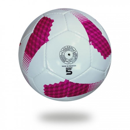 Cosmos 350   great soccer ball for youth pink and white color