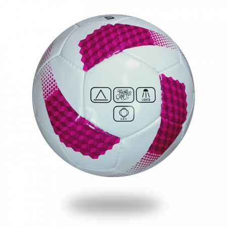 Cosmos 350 | girls best training white and pink  soccer ball