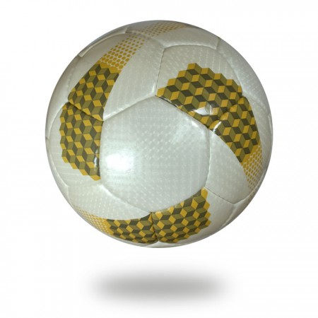 Diamond | white and yellow soccer ball for youth