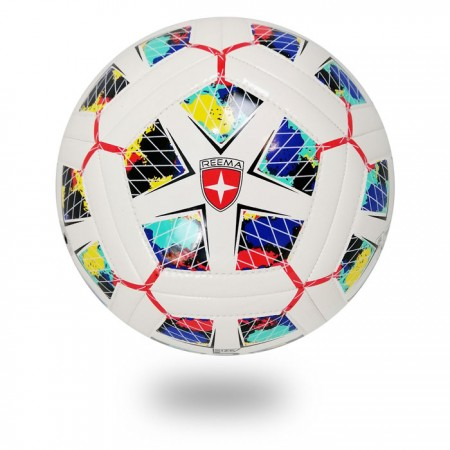 Dual Tech | white soccer ball design Diamond with  black color
