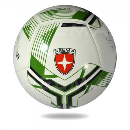 Dynamic 2020 | Great Football with white and forest green printed
