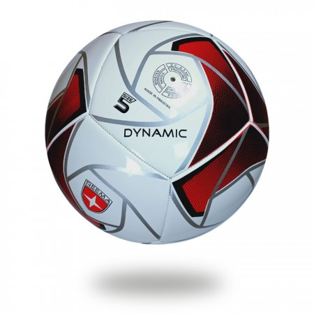 Dynamic | make a spider with silver and filling with dark maroon hot selling product soccer ball