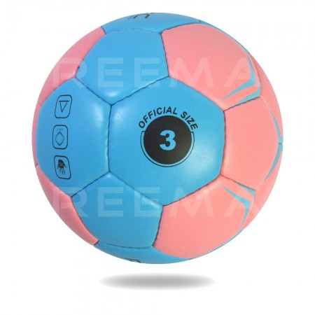 Elite 2020 | Light Blue and Pink Hand ball with black printed