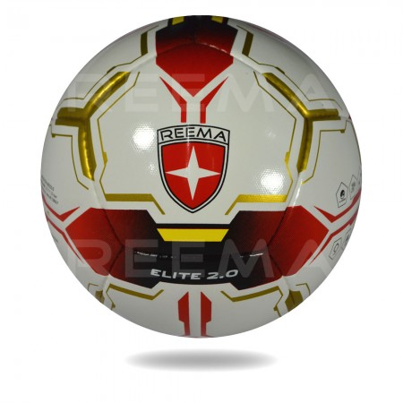 Elite 2020 | white and red color hand stitched soccer ball