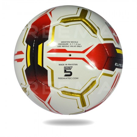 Elite 2020 |  official size 5 best for boys white and red soccer ball