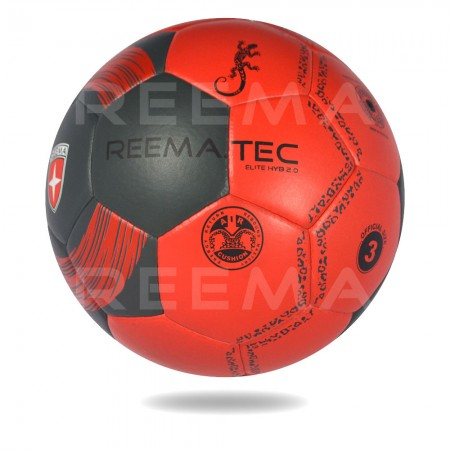 Elite-HYB 2020 | handball on white background with red and black