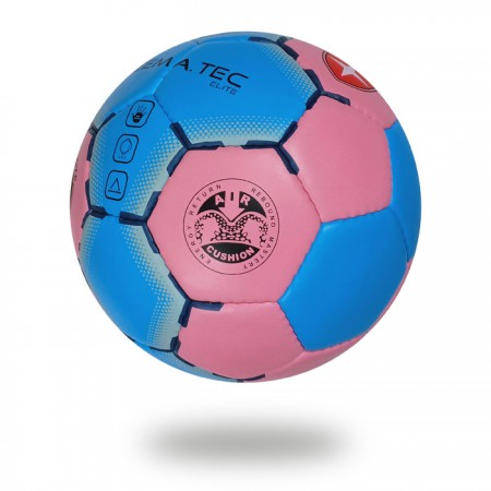 Elite | Size 3 Hand ball in nice Royal blue and Pale violet Red color