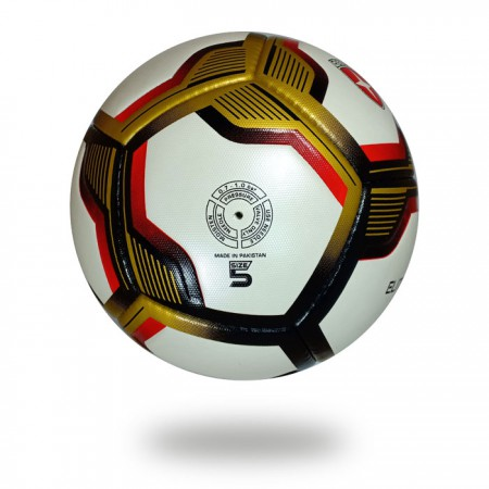 Elite | white red Wholesale PU Custom Size 5 football