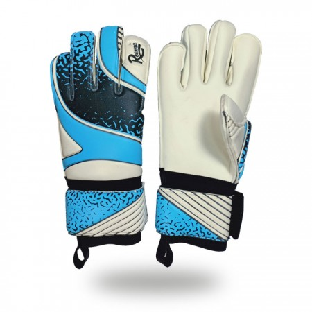 Fusion Evolution |Five Fingers safety keeper gloves in blue and white color