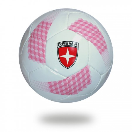 Futsal pro | white and pink football men play with ball in day and night